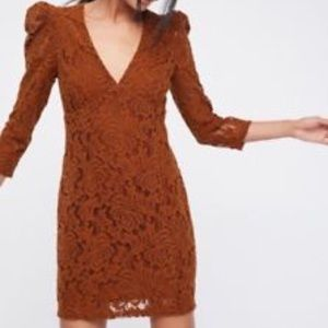 Free People NWT Lace Dress